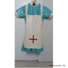latex nurse dress - art.nr-100