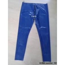 Latex blue pants - art.nr-102
