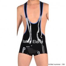 latex wrestling suit - art.nr-106