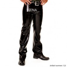 Latex jeans with belt - art.nr-123