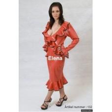Latex suit red - art.nr-132