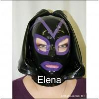 Mask closable with zipper - art.nr-141