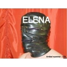 a mask with 4 zippers art.nr-179