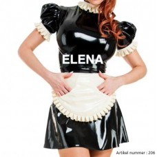 French Maid Latex Dress art.nr-206