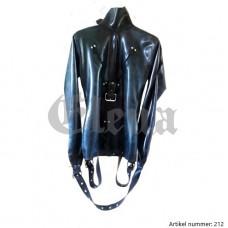 latex straight jacket  - art.nr-212