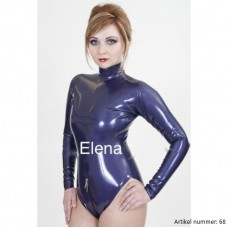 Latex swimsuit with sleeves - art.nr-68
