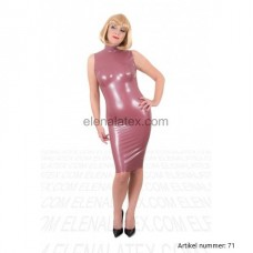 Super Latex pink dress - art.nr-71