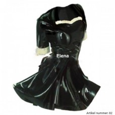 Latex maid dress - art.nr-82