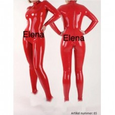 Latex red overall - art.nr-85