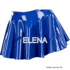 latex skater skirt - art.nr-96