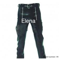 Latex biker pants with a belt - art.nr-99