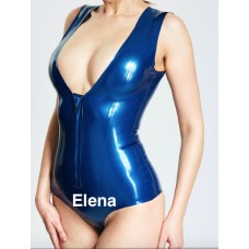 All-Abreast Low-cut Female Leotard