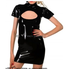 Latex dress for open -art.no-381