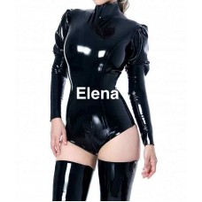 Latex body with long zipper  - art.nr-273