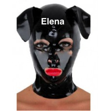 Latex pup Mask  standaard  art.nr-332