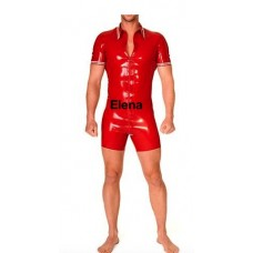 latex polo surfsuit  -art. nr. 349