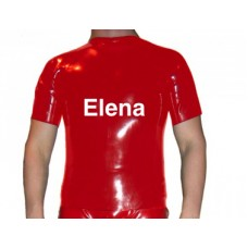 Latex Short sleeved t-shirt  -Art.nr. 309