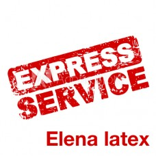Express Service middle  latex